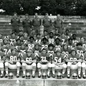 Freshman football team group photo