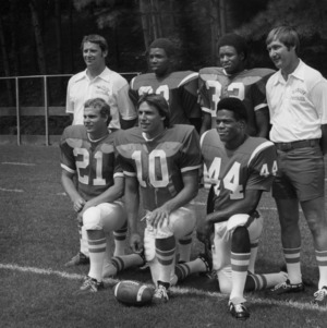 Football players and assistant coaches originally from High Point, N. C.