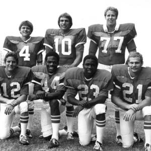 High Point natives on football team group photo