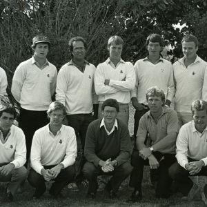Golf team group photo