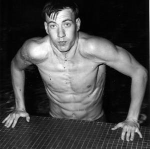 Swimmer Steve Rerych