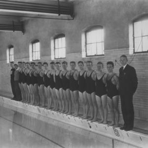 Swim team group photo