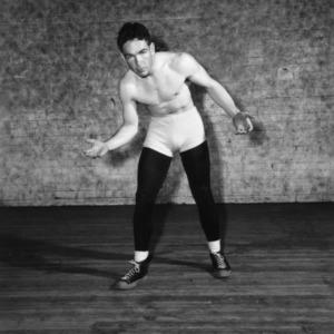 Wrestler Carlton Blalock