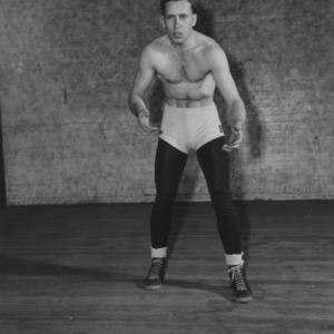 Wrestler photograph
