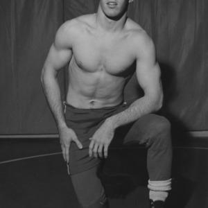 Wrestler Richard Huntley