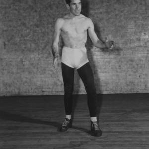 Wrestler Ben Lewis