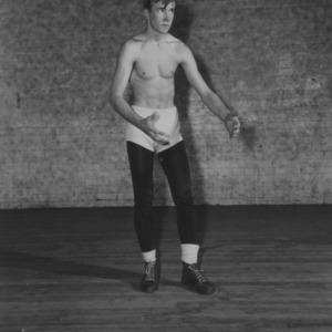 Wrestler Bill Rickard