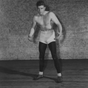 Wrestler Don Troxler