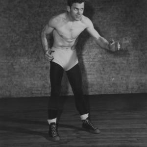 Wrestler Fred Wagoner