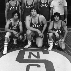 Wrestlers from Easton, Pennsylvania group photo