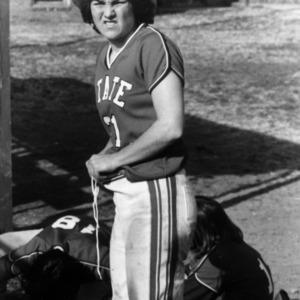 N. C. State Women's Softball player Dawn McLaurin