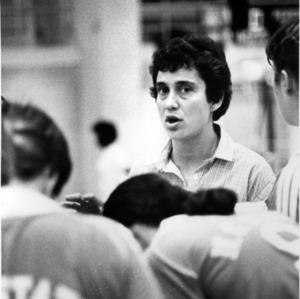 N. C. State Women's Softball coach Pat Hielsher