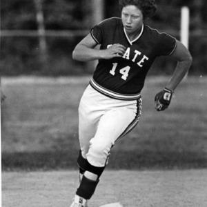 N. C. State Women's Softball player Diane Snook