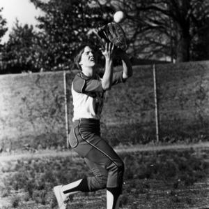 N. C. State Women's Softball player Ann Keith