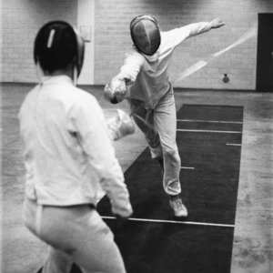 N. C. State fencing match