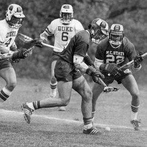 N. C. State and Duke lacrosse game