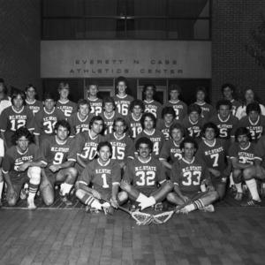 Lacrosse team group photo