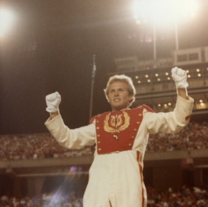 N. C. State marching band conductor