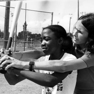 Baseball game at Sports Summer Camp