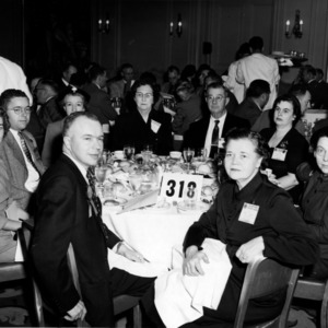 F. H. Jeter others at dinner event