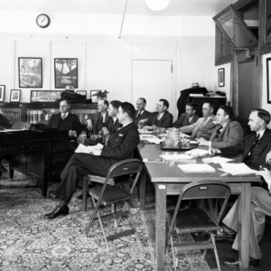 F. H. Jeter and others at meeting