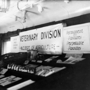 Exhibit on N. C. Department of Agriculture's Veterinary Division