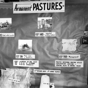 State Fair exhibit on Permanent Pastures