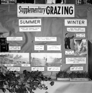 State Fair exhibit on Supplement Grazing