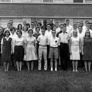 Cooperative College School Science Program group photo