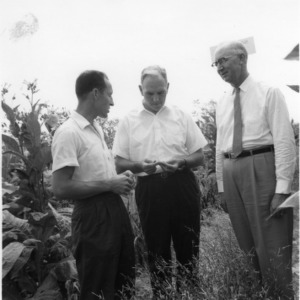 Dean H. Brooks James and others at Coastal Plain Research Station