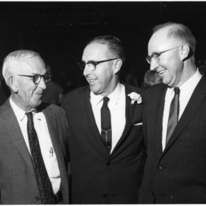 I. O. Schaub, Dean Colvard, and H. B. James