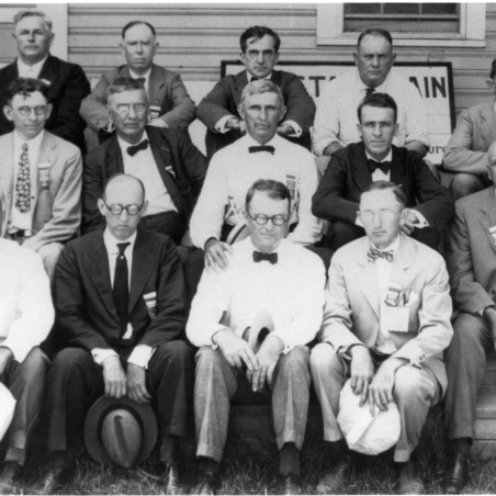 Willard Agricultural Experiment Station group photo