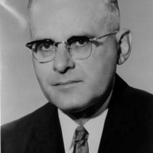 Dr. Earl L. Butz portrait photo