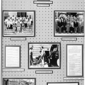 Display of Plant Pathology department, 1945-1953