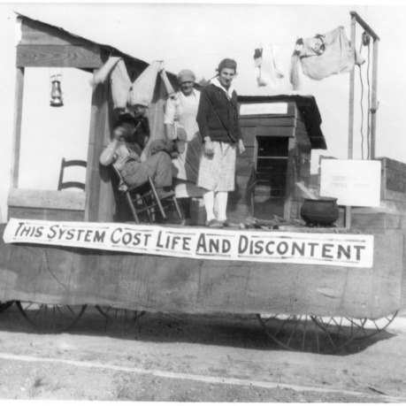 Agricultural engineering float at Student Agricultural Fair
