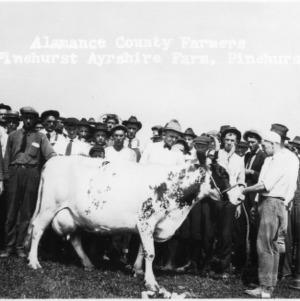 Alamance County farmers at Pinehurst Ayrshire Farm, Pinehurst, N.C.