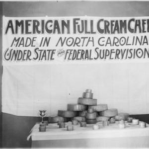 American Full Cream Cheese display