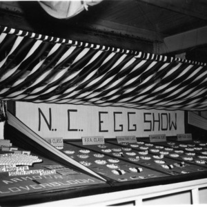 1947 N.C. State Fair Egg Show