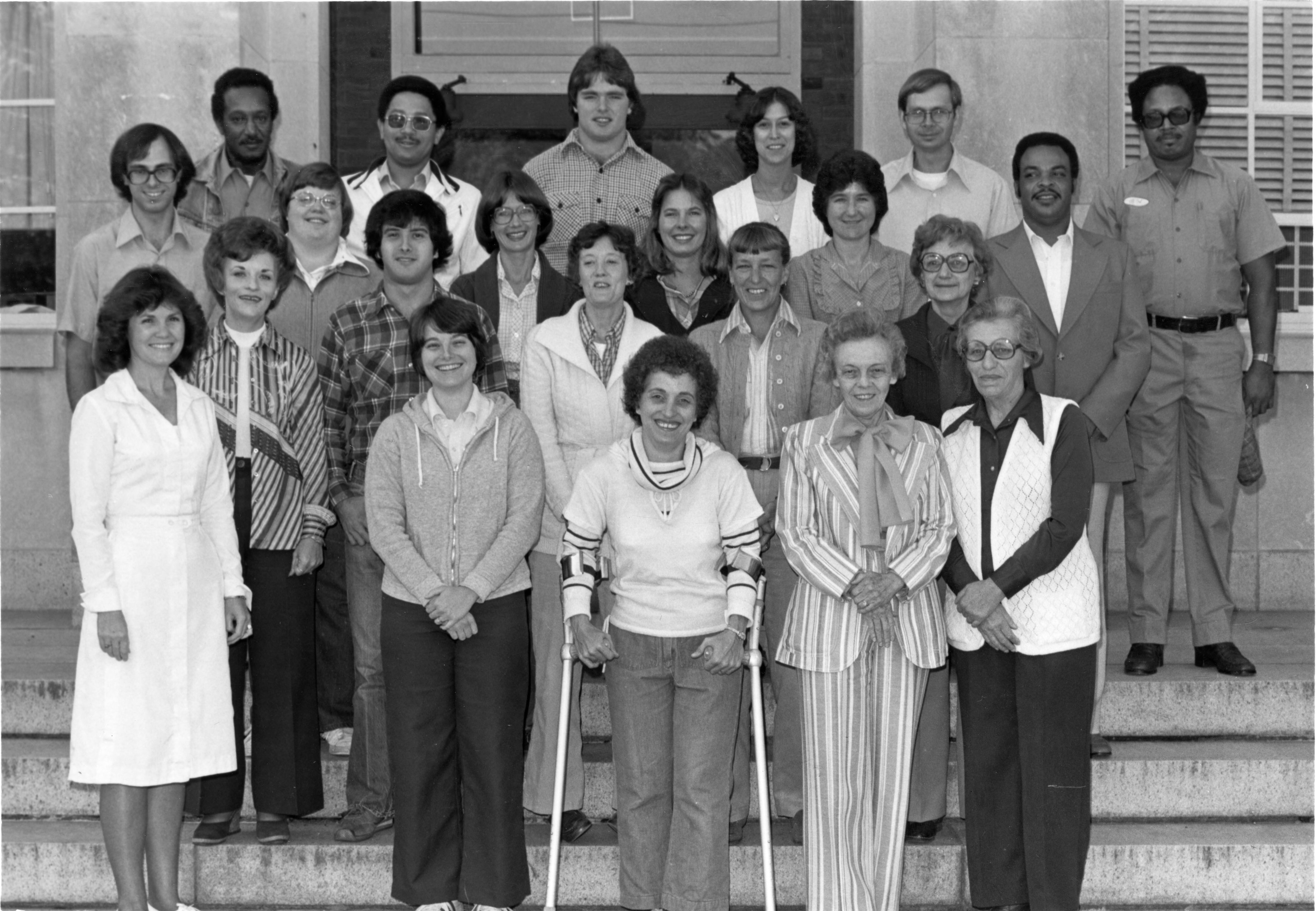 Poultry Science Staff at Scott Hall, 1979