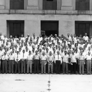 Flock selectors and blood testers' school, 1949, Raleigh, N.C.