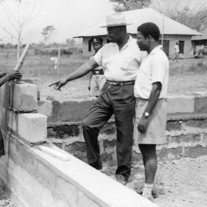 Charlie L. Davis, Poultry Extension Specialist, In Nigeria, 1950's