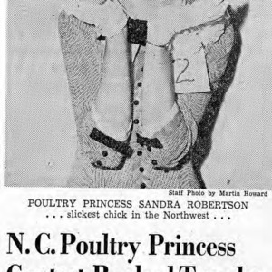 Poultry Princess Sandra Robertson, Slickest Chick in the Northwest