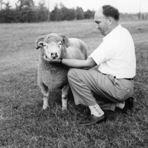 Man with ram