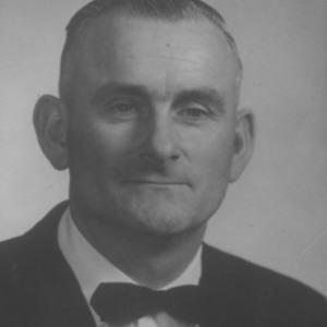 Portrait of 4-H Adult Leader Winner O. B. Batten