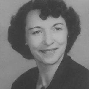 Portrait of 4-H Adult Leader Winner Mrs. Ira Pate Lowery
