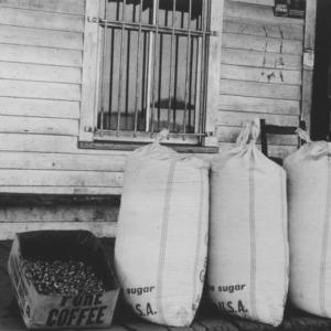 Black Walnut kernels in bag