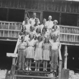 Herderson County 4-H Club at Camp Swannanoa