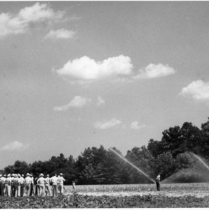 Irrigation system demonstration