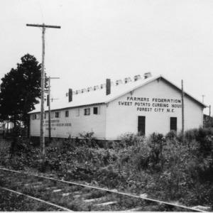 Farmer's Federation sweet potato curing house