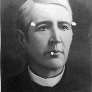Augustus Leazar painted portrait